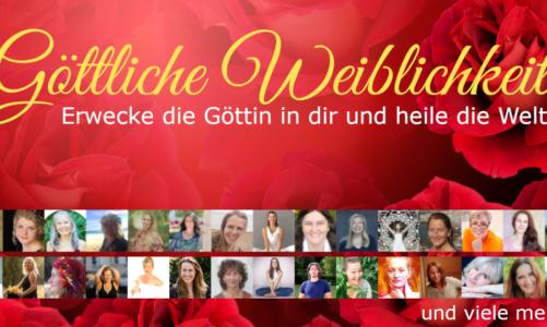 """Coming soon: Internationaler """"Göttliche Weiblichkeit"""" Online Kongress"""